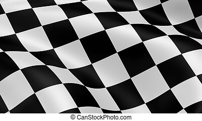 bandiera, checkered