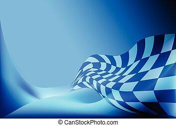 bandiera, checkered, corsa, vec, fondo