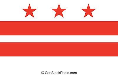 bandiera, columbia, distretto