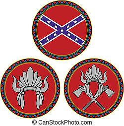 bandiera, confederato