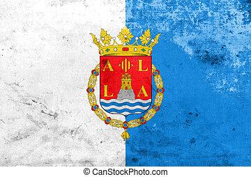 Spain bandiera alicante citt su citt bandiera alicante chiudere spain - Stock uno alicante ...