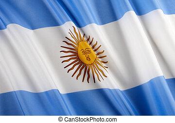 bandiera, di, argentina