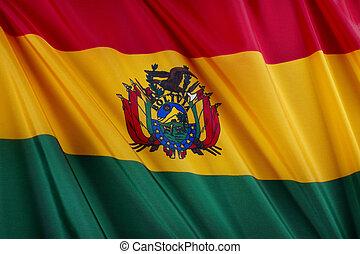 bandiera, di, bolivia