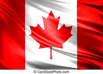 bandiera, di, canada