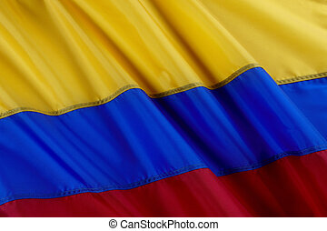 bandiera, di, colombia