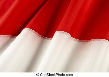 bandiera, di, indonesia