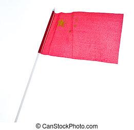 bandiera, di, porcellana