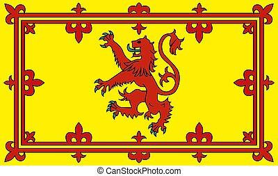 bandiera, di, scozia