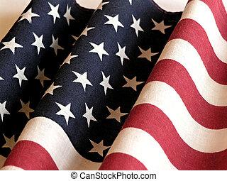bandiera, di, stati uniti
