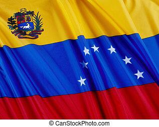 bandiera, di, venezuela