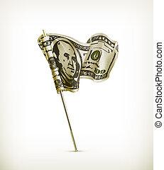 bandiera, dollaro