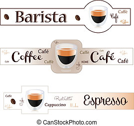 bandiera, espresso