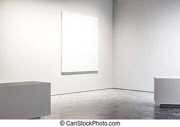 bandiera, galleria, vuoto