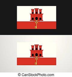Bandiera Gibilterra Collezione Collezione Bandiera 12