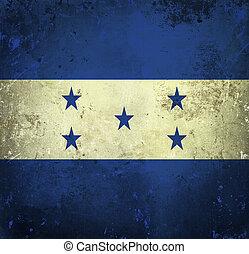 bandiera honduras, grunge