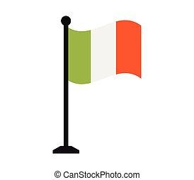 bandiera, italiano