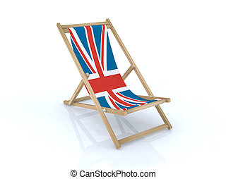 bandiera, legno, brasilian, sedia, scrivania