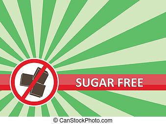bandiera, libero, zucchero