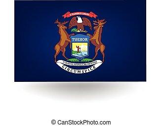 bandiera michigan, stato