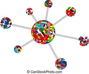 bandiera, molecola