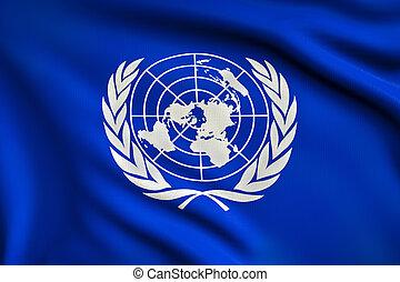bandiera, nazioni unite