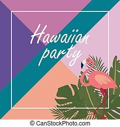 bandiera parte, hawaiano