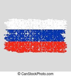 bandiera, russia, struttura