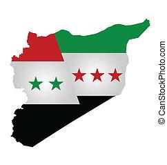 bandiera, siriano