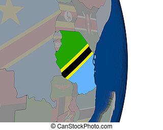 bandiera, tanzania, relativo