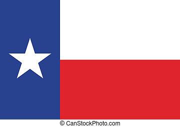 bandiera texas, officially