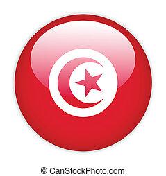 bandiera tunisia, bottone