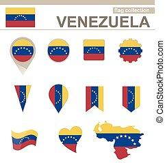 bandiera, venezuela, collezione