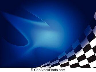 bandiera, vettore, fondo, corsa, illustrazione