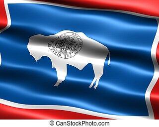 bandiera, wyoming, stato