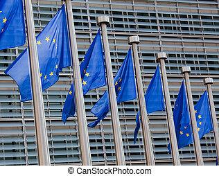 bandiere, europeo