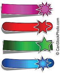 bandiere, stella