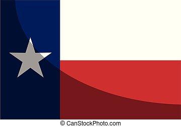 bandierina condizione, uggia, texas