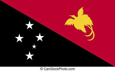 bandierina papua-new.guinea, immagine