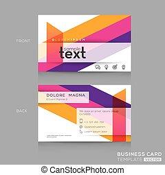 banding, handlowy, barwny, abstrakcyjna forma, projektować, tło, bilety