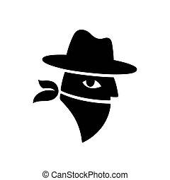 Bandit face logo