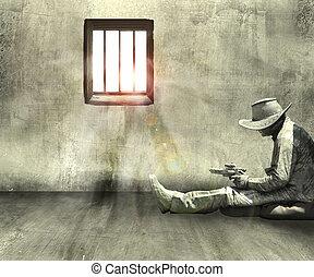bandit in prison