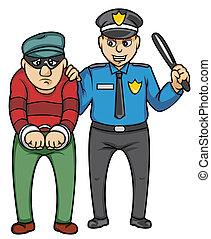bandit, polizei