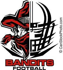 bandits, football