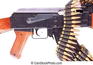 bandoleer,  ak-47