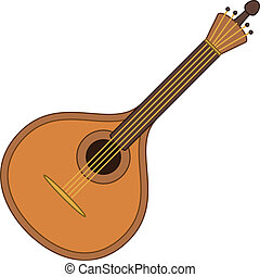 bandolim, instrumento, musical
