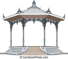 bandstand, かなり
