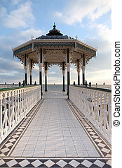 bandstand victorian brighton england - Victorian bandstand...