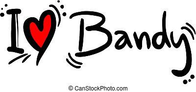 Bandy Vektor Clip-Art Illustrationen. 443 Bandy Clip-Art ...