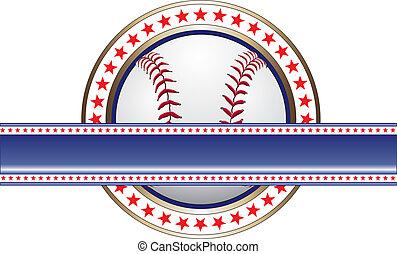 baner, baseball, design