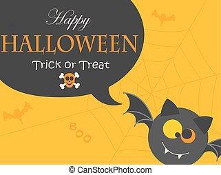 baner, halloween, night., parti